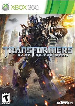 Transformers: Dark of the Moon (Xbox 360) by Activision Box Art