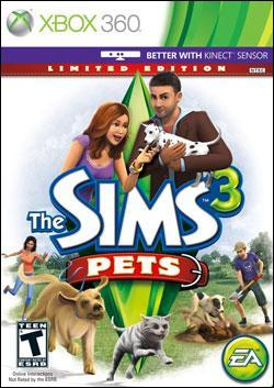 The Sims 3: Pets (Xbox 360) by Electronic Arts Box Art