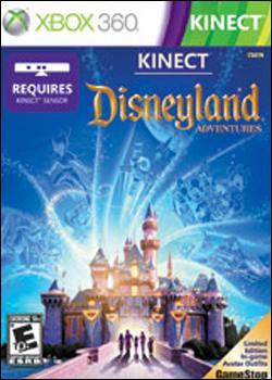 Kinect: Disneyland Adventures (Xbox 360) by Microsoft Box Art