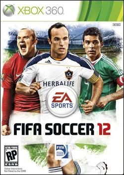 FIFA Soccer 12 (Xbox 360) by Electronic Arts Box Art