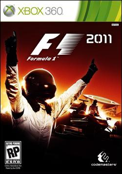 F1 2011  (Xbox 360) by Microsoft Box Art