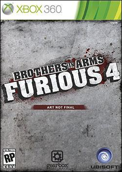 Brothers in Arms: Furious 4 (Xbox 360) by Ubi Soft Entertainment Box Art