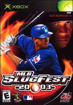 MLB Slugfest 2003 (Xbox) by Midway Home Entertainment Box Art