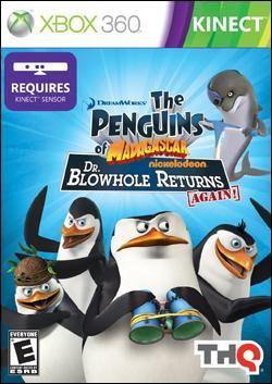 Penguins of Madagascar: Dr. Blowhole Returns (Xbox 360) by THQ Box Art