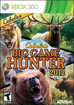 Cabela's Big Game Hunter 2012 (Xbox 360) by Activision Box Art