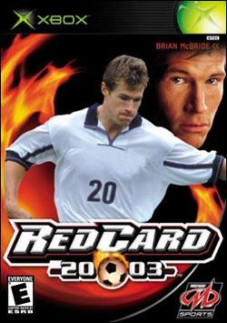RedCard Soccer 20-03 (Xbox) by Midway Home Entertainment Box Art
