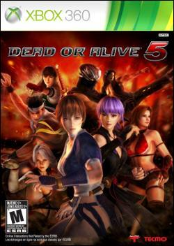 Dead or Alive 5 (Xbox 360) by Tecmo Inc. Box Art