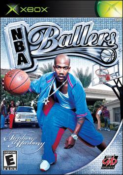 NBA Ballers (Xbox) by Midway Home Entertainment Box Art