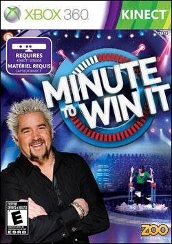 Minute to Win It (Xbox 360) by Southpeak Interactive Box Art