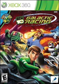 Ben 10: Galactic Racing (Xbox 360) by D3 Publisher Box Art
