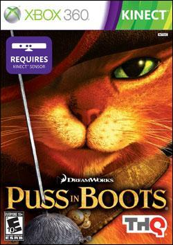 Puss In Boots (Xbox 360) by THQ Box Art