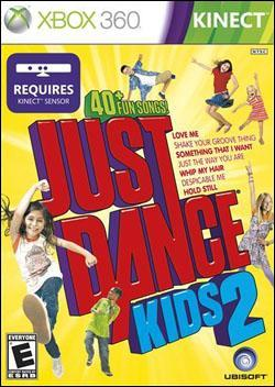 Just Dance Kids 2 (Xbox 360) by Ubi Soft Entertainment Box Art