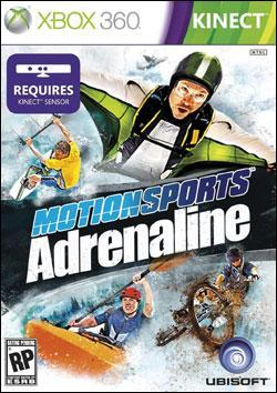 Motion Sports: Adrenaline (Xbox 360) by Ubi Soft Entertainment Box Art