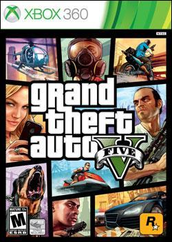 Grand Theft Auto V (Xbox 360) by Rockstar Games Box Art