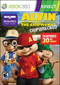 Alvin & Chipmunks: Chipwrecked (Xbox 360) by Majesco Box Art