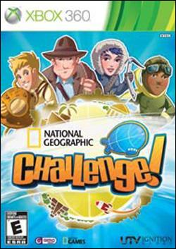 National Geographic Challenge!  (Xbox 360) by Ignition Entertainment Box Art