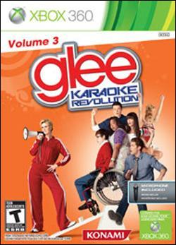 Karaoke Revolution Glee: Volume 3 (Xbox 360) by Konami Box Art