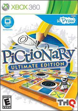 Pictionary: Ultimate Edition (Xbox 360) by THQ Box Art