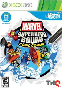 Marvel Super Hero Squad: Comic Combat (Xbox 360) by THQ Box Art