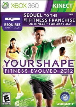 Your Shape: Fitness Evolved 2012 (Xbox 360) by Ubi Soft Entertainment Box Art
