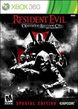 Resident Evil: Operation Raccoon City (Xbox 360) by Capcom Box Art