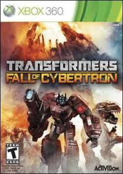 Transformers: Fall of Cybertron  (Xbox 360) by Activision Box Art