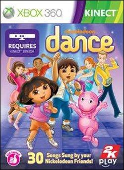 Nickelodeon Dance  (Xbox 360) by Microsoft Box Art