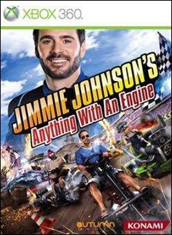 Jimmie Johnson's: Anything With An Engine  (Xbox 360) by Microsoft Box Art