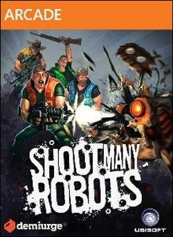 Shoot Many Robots (Xbox 360 Arcade) by Microsoft Box Art
