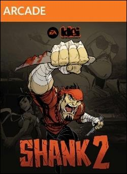 Shank 2 (Xbox 360 Arcade) by Microsoft Box Art