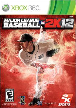 Major League Baseball 2K12 (Xbox 360) by Take-Two Interactive Software Box Art