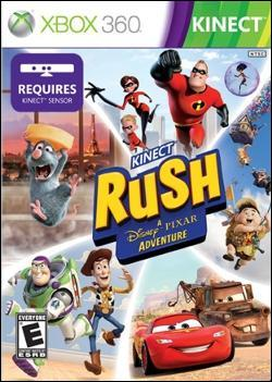 Kinect Rush: A Disney-Pixar Adventure (Xbox 360) by Disney Interactive / Buena Vista Interactive Box Art