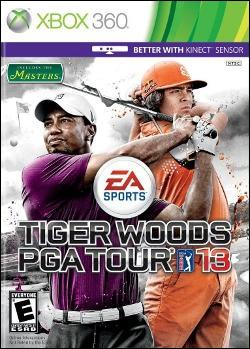 Tiger Woods PGA Tour 13 (Xbox 360) by Electronic Arts Box Art