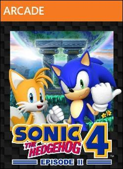 Sonic the Hedgehog 4: Episode II (Xbox 360 Arcade) by Sega Box Art