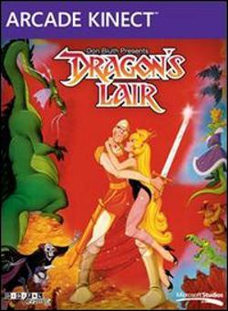 Dragons Lair (Xbox 360 Arcade) by Microsoft Box Art