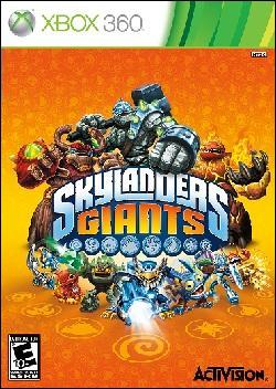 Skylanders Giants (Xbox 360) by Activision Box Art