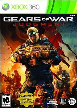 Gears of War: Judgment (Xbox 360) by Microsoft Box Art
