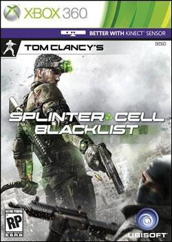 Tom Clancy's Splinter Cell: Blacklist (Xbox 360) by Ubi Soft Entertainment Box Art