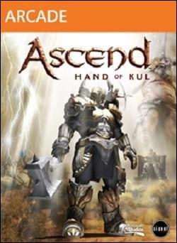 Ascend: Hand of Kul (Xbox 360 Arcade) by Microsoft Box Art