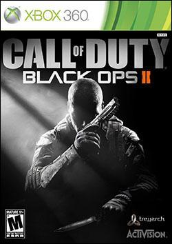 Call of Duty: Black Ops II (Xbox 360) by Activision Box Art