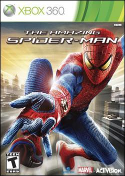 The Amazing Spider-Man (Xbox 360) by Activision Box Art