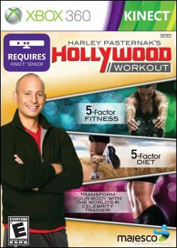 Harley Pasternak's Hollywood Workout (Xbox 360) by Majesco Box Art