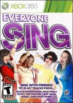 Everyone Sing (Xbox 360) by O-Games Box Art