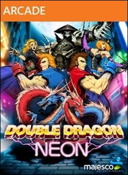 Double Dragon: Neon (Xbox 360 Arcade) by Majesco Box Art