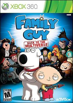 Family Guy: Back to the Multiverse (Xbox 360) by Activision Box Art