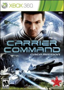 Carrier Command: Gaea Mission (Xbox 360) by Microsoft Box Art
