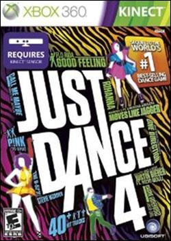 Just Dance 4 (Xbox 360) by Microsoft Box Art