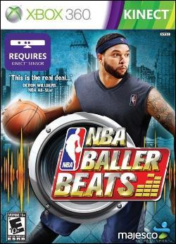 NBA Baller Beats (Xbox 360) by Majesco Box Art