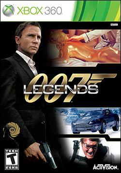 007 Legends (Xbox 360) by Activision Box Art