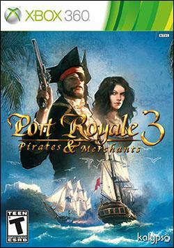 Port Royale 3: Pirates & Merchants (Xbox 360) by Atlus USA Box Art